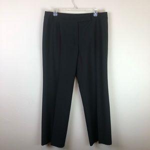 Pants - Black Pinstripe Dress Pants Size 16 Woman